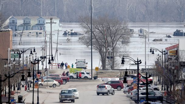 80-year-old woman trapped in home among 3 dead from historic flooding in Midwest