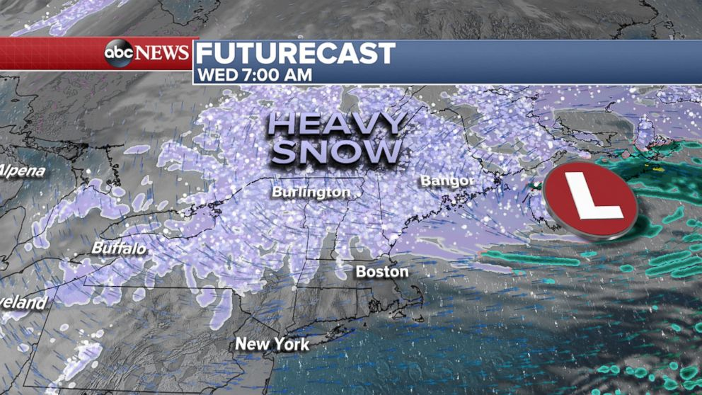 PHOTO: Futurecast, Wednesday at 7AM.