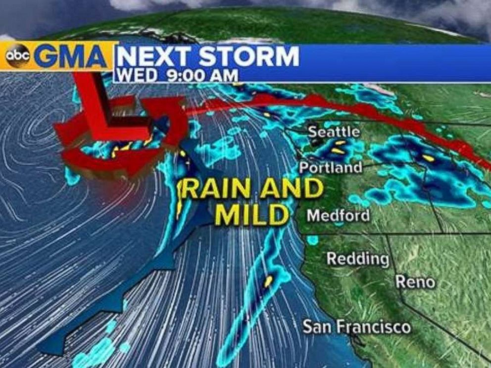 PHOTO: Storms are brewing in the Northwest ahead of the busiest travel day of the year.