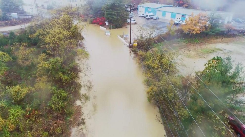 PHOTO: Severe storms brought flooding to parts of the mid-Atlantic over the weekend.