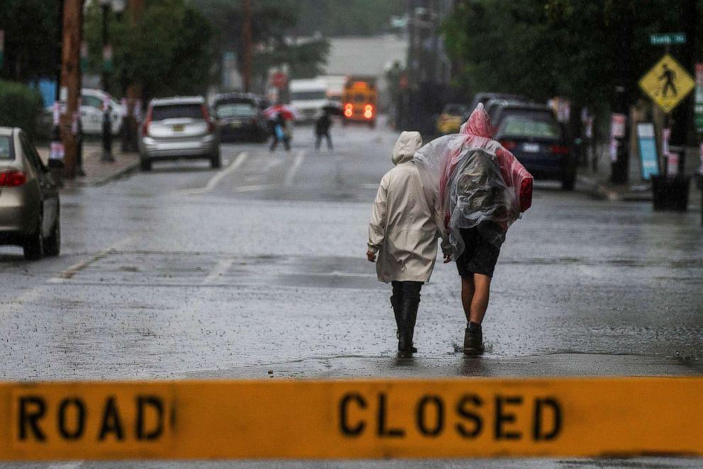 Tropical Storm Elsa Batters East Coast With Heavy Rain and Winds