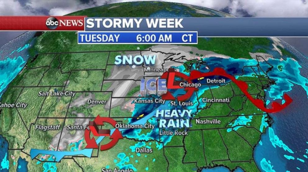 Wintry mix early Friday; bigger winter storm potential this weekend