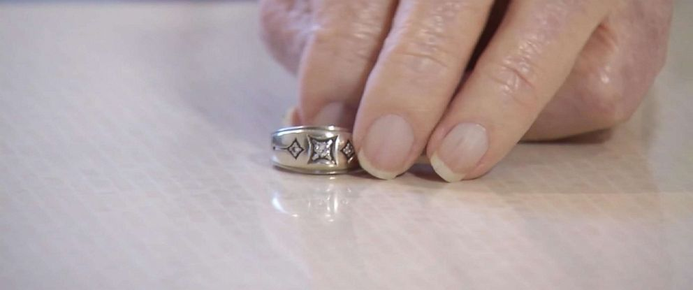 PHOTO: The lost wedding ring of Ray Schmuecker turned up after 40 years in an unexpected place.