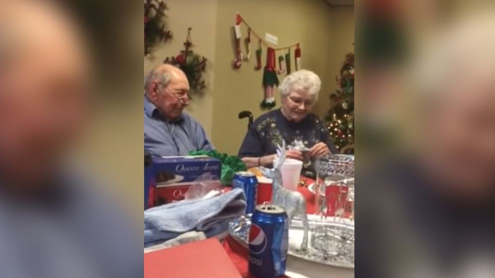 A man surprised his wife of 67 years with a wedding ring after she lost hers.