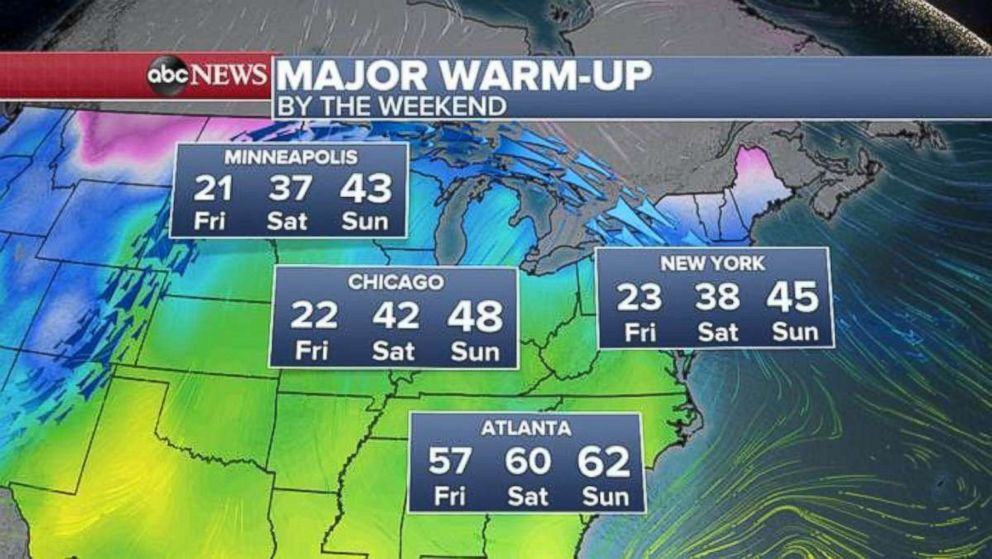 PHOTO: The weekend weather.