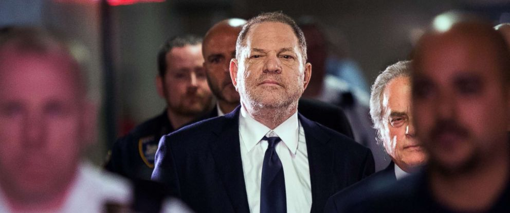 PHOTO: Hollywood film producer Harvey Weinstein enters Manhattan criminal court in New York, June 5, 2018.