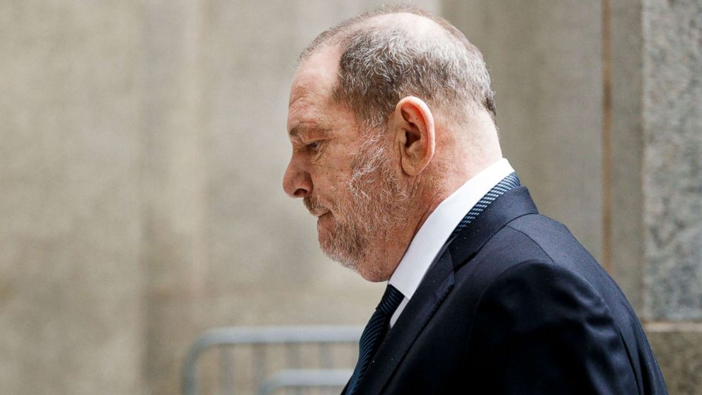 Former movie producer Harvey Weinstein arrives to State Supreme Court for a hearing in his sexual assault case in N.Y., Oct. 11, 2018.