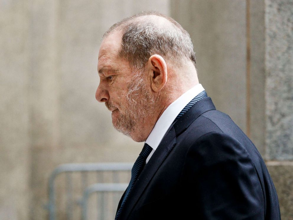 PHOTO: Former film producer Harvey Weinstein arrives at the State Supreme Court for a hearing on his sexual assault case in New York, on October 11, 2018.