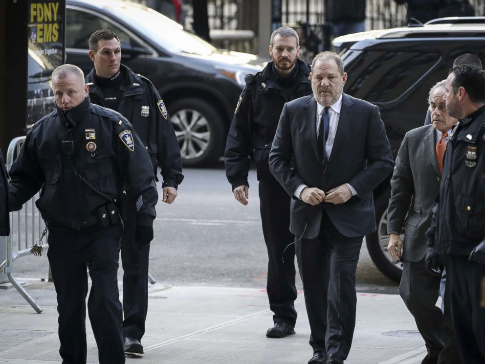 PHOTO: Harvey Weinstein arrives with his lawyer Ben Brafman for a court hearing at New York Criminal Court, Dec. 20, 2018, in New York City.