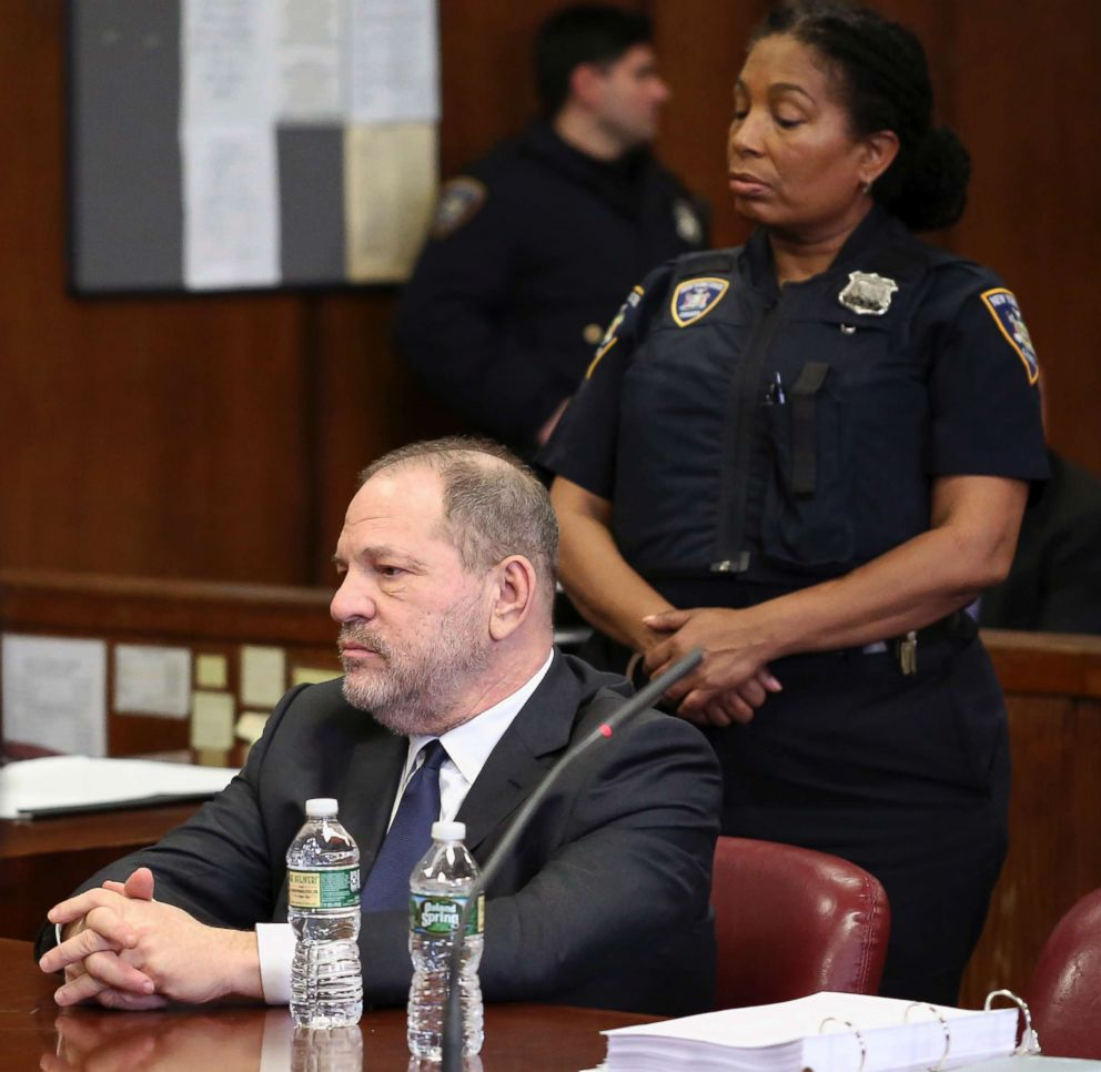 PHOTO: Harvey Weinstein makes an appearance in court at New York Supreme Court, Dec. 20, 2018, in N.Y.