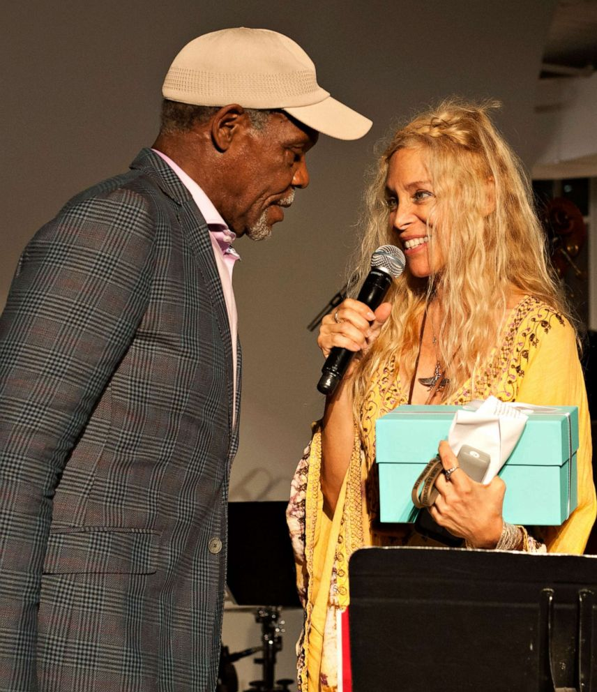 PHOTO: Wendy Oxenhorn with actor Danny Glover.