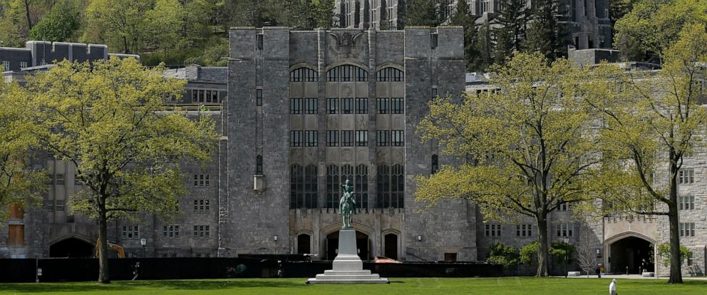 PHOTO: This May 2, 2019 file photo shows a view of the United States Military Academy at West Point, N.Y.