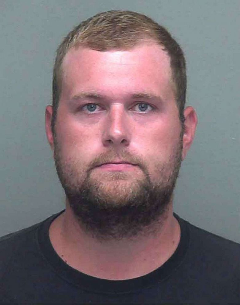 PHOTO: Zachary Webster in a police booking photo.