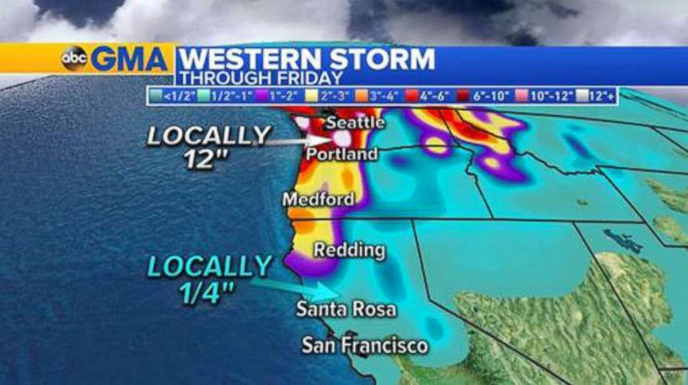 PHOTO: Western Storm - through Friday.