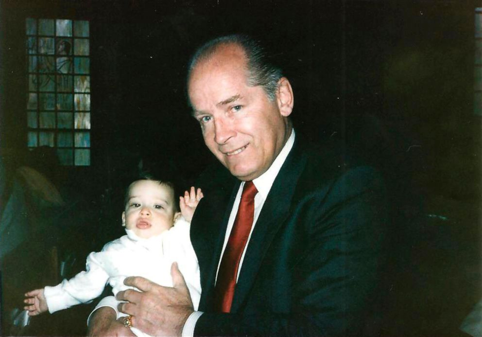 PHOTO: James Whitey Bulger holds John Martoranos youngest son, John Jr., during his Christening ceremony in this undated handout photo provided by the U.S. Attorneys Office of Massachusetts, June 18, 2013.