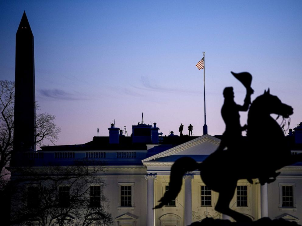 AFP  Getty Images FILESecret Service counter snipers are seen on the roof of the White House Jan. 11 2019 in Washington