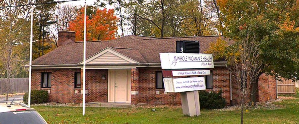 PHOTO: Whole Womans Health clinic in South Bend, In., is pictured in this image from Google Street View.