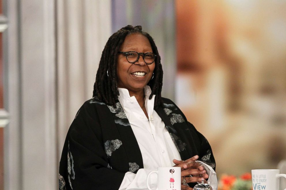 """Whoopi Goldberg speaks on """"The View,"""" March 20, 2018."""