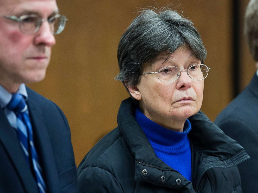 PHOTO: Linda Kosuda-Bigazzi, charged with murder in the death of her husband, Dr. Pierluigi Bigazzi, appears at Bristol Superior court, Feb. 13, 2018 in Bristol, Conn.