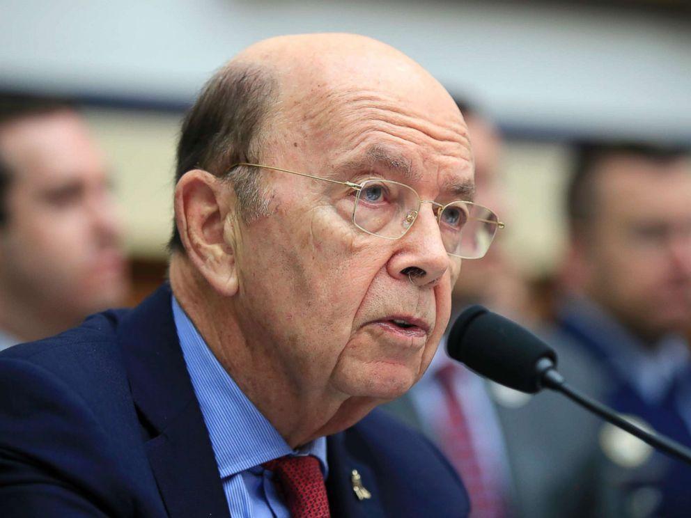 PHOTO: Commerce Secretary Wilbur Ross, testifies on Capitol Hill in Washington, June 22, 2018.