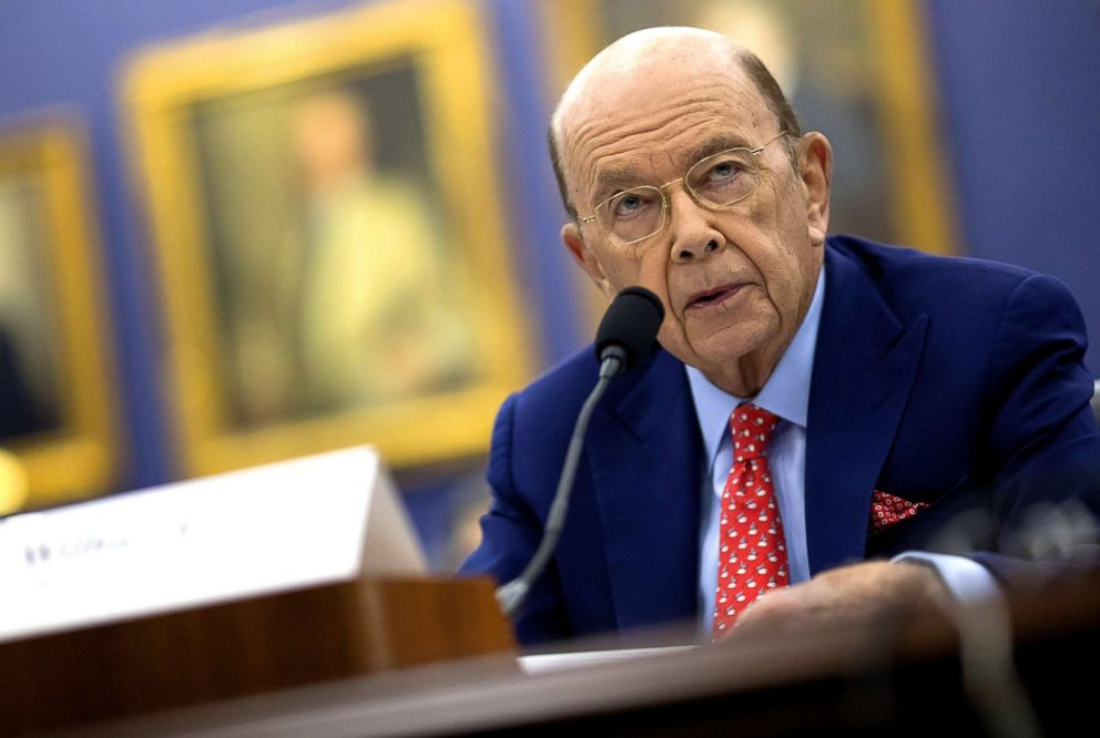 PHOTO: Wilbur Ross, U.S. commerce secretary, speaks during a House Appropriations Subcommittee hearing in Washington, D.C., March 20, 2018.