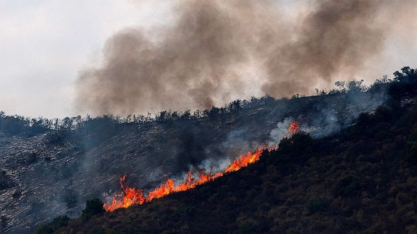 California wildfire evacuation orders reduced to warnings