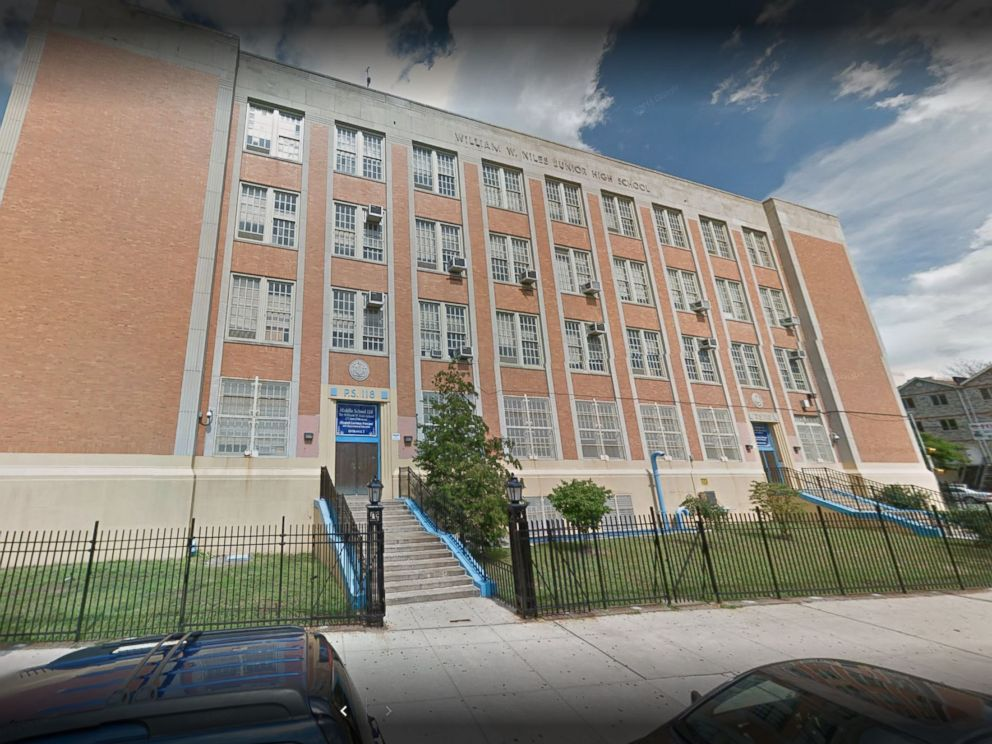 PHOTO: An exterior shot of the William W. Niles School, M.S. 118, in the Bronx borough of New York City.