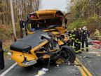 Child among 3 critically injured in New York state school bus crash
