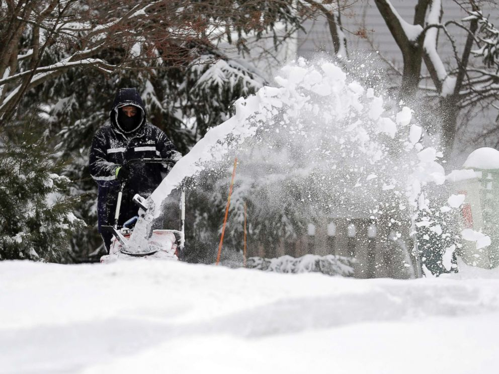 Winter Storm: Major Winter Storm Continues To Pound Midwest