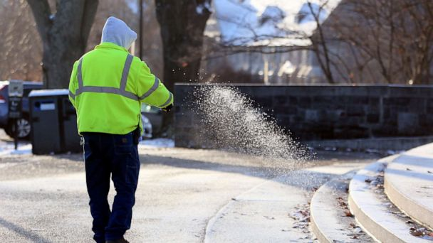 Cold blast for millions in the East as new storms develop on both coasts