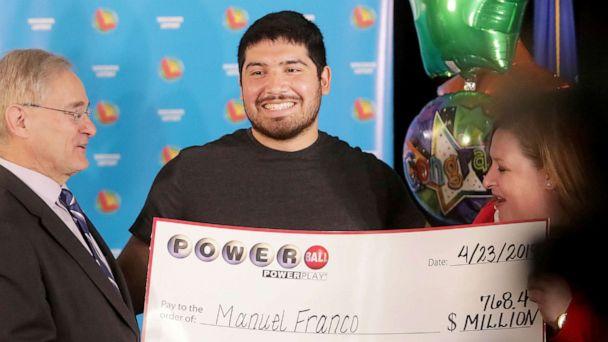 24-year-old Wisconsin man Manuel Franco is winner of $768 million Powerball jackpot: 'It feels like a dream'
