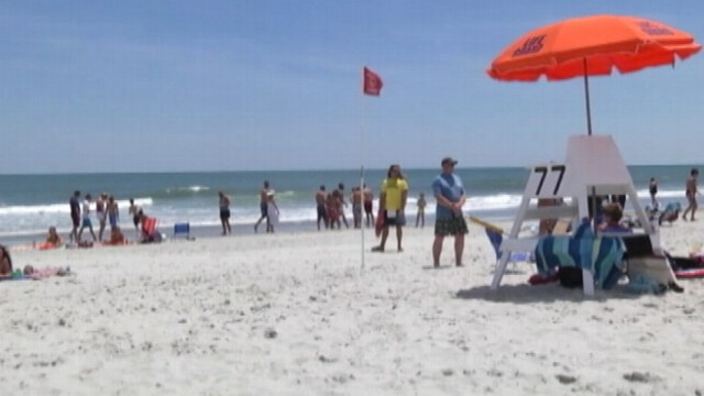 Now Playing Shark Suspected In Myrtle Beach Attacks