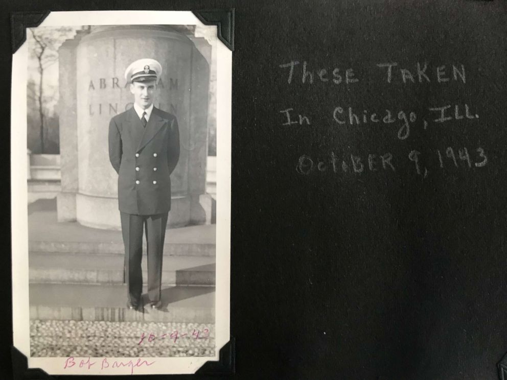 PHOTO: Bob Barger was a naval aviator during World War II. When he returned to the U.S., he enrolled in college but had to drop out to work and care for his family.