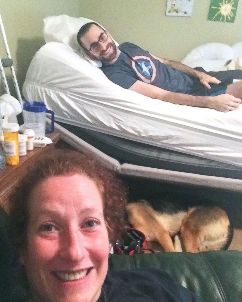 PHOTO: Alane Levy of Atlanta, Georgia, came to care for Josh Libman and his family after seeing a post on Facebook about his fight with cancer this summer.