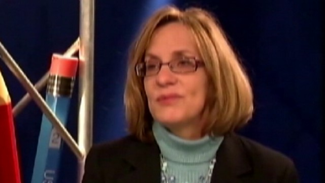 VIDEO: Nancy Sebrings racy emails were sent on her former school districts e-mail system.