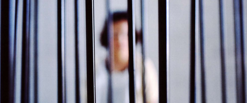 PHOTO: In this undated stock photo shows a Woman in jail.