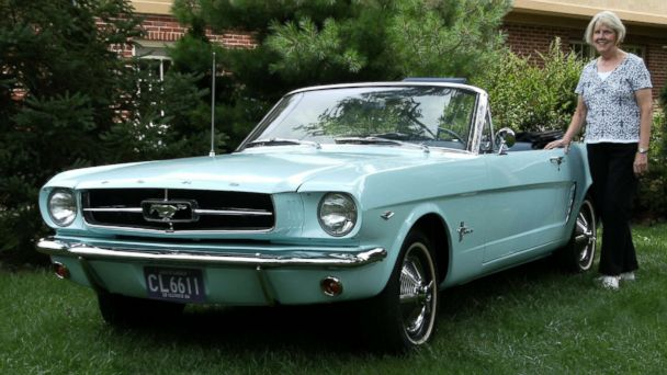 First Mustang ever sold to be on display in Michigan as part of Ford's 10M festivities