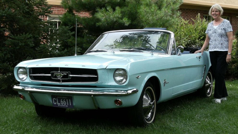 First Mustang Ever Sold To Be On Display In Michigan As Part Of Ford S 10m Festivities Abc News