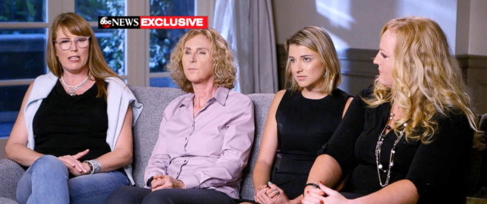PHOTO: Women who accused a former University of Southern California campus gynecologist of sexual misconduct speak out in an exclusive interview with ABC News.