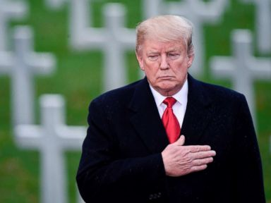 Trump's rain check on honoring Americans killed in WWI prompts backlash