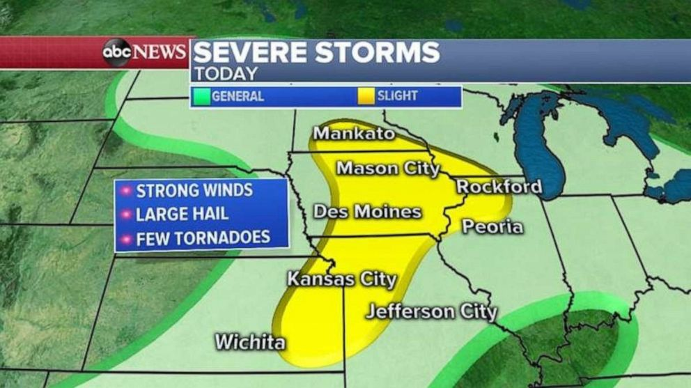 ABC News Severe storms continue