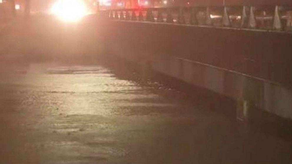 Flash flooding strikes Texas, while Hurricane Humberto moves away from US thumbnail
