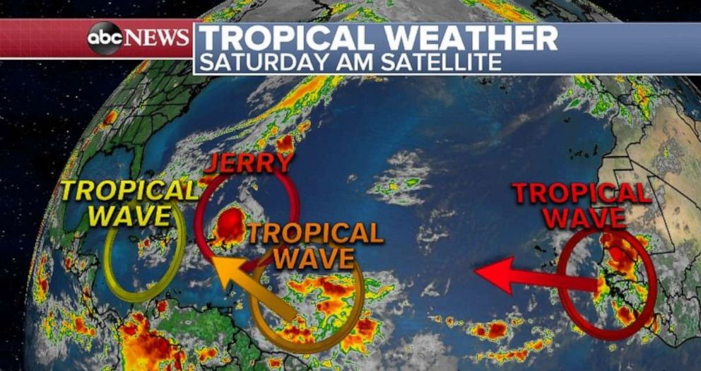 PHOTO: Tracking tropical weather.
