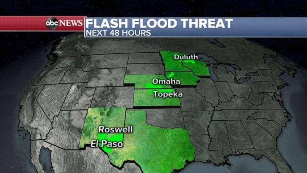 PHOTO: Flash flood threat