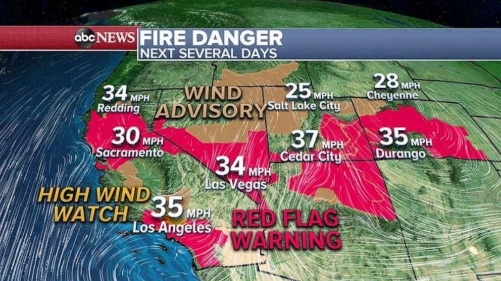 PHOTO: Fire danger