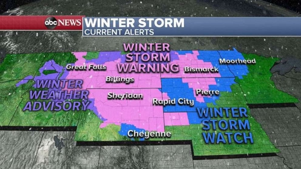 PHOTO: Winter storm alerts