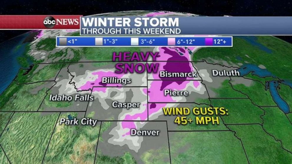 PHOTO: Winter storm through this weekend