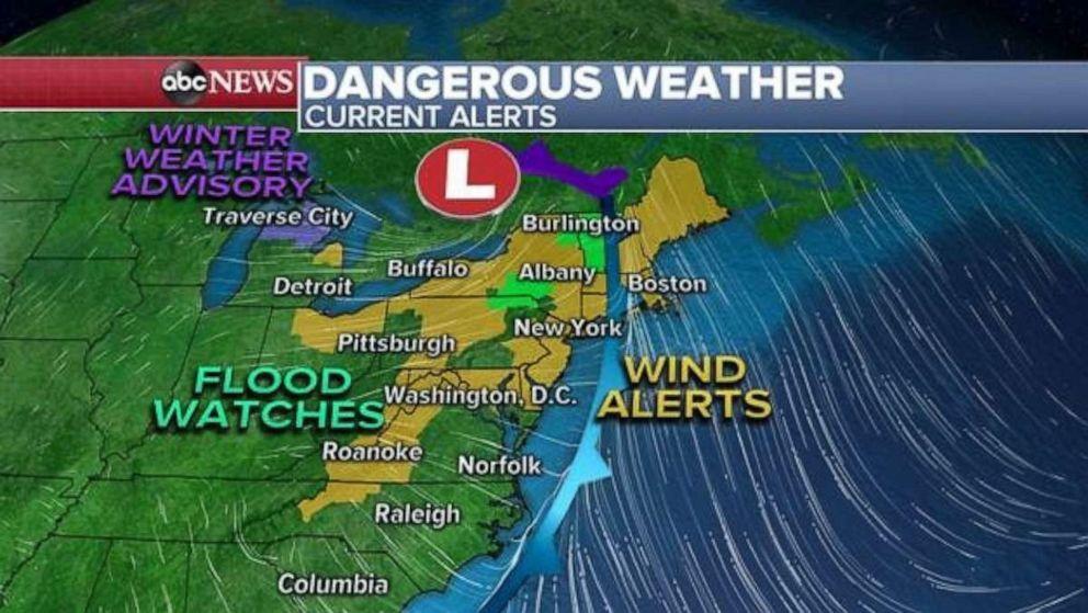 PHOTO: Dangerous weather