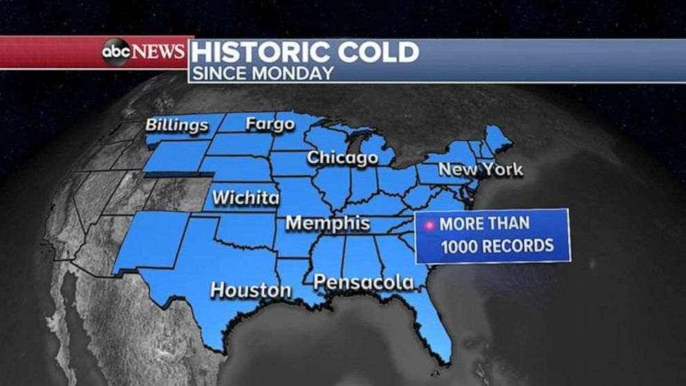 PHOTO: Historic cold
