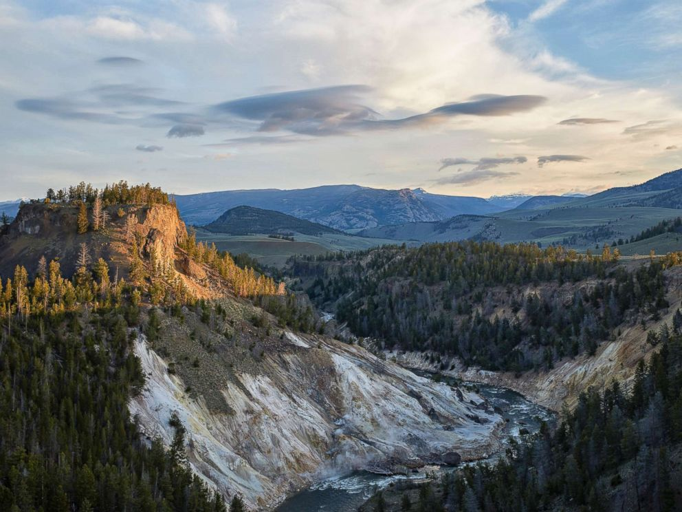 PHOTO: Yellowstone National Park in Wyoming is pictured in this undated stock photo.
